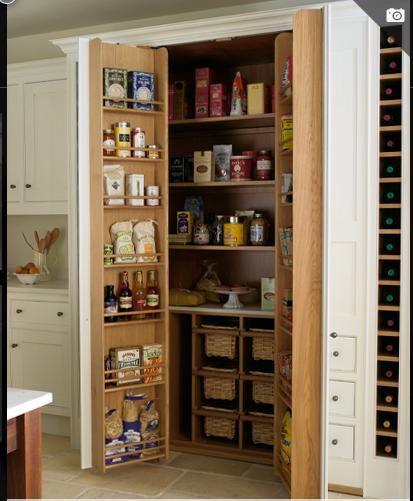 pingl par waldo wilkinson sur kitchen surfaces storage pinterest armoire rangement. Black Bedroom Furniture Sets. Home Design Ideas