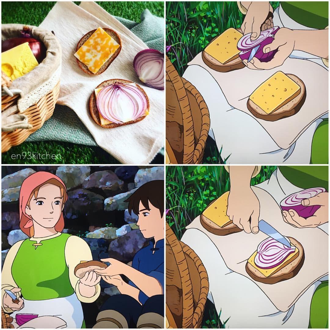 Anime Food Brought To Life おしゃれまとめの人気アイデア Pinterest Kaololipop ジブリ飯 ジブリ スタジオジブリ
