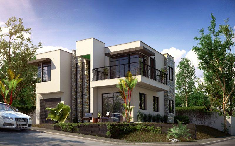 Modern House Design, PHD 2015015   Pinoy House Designs