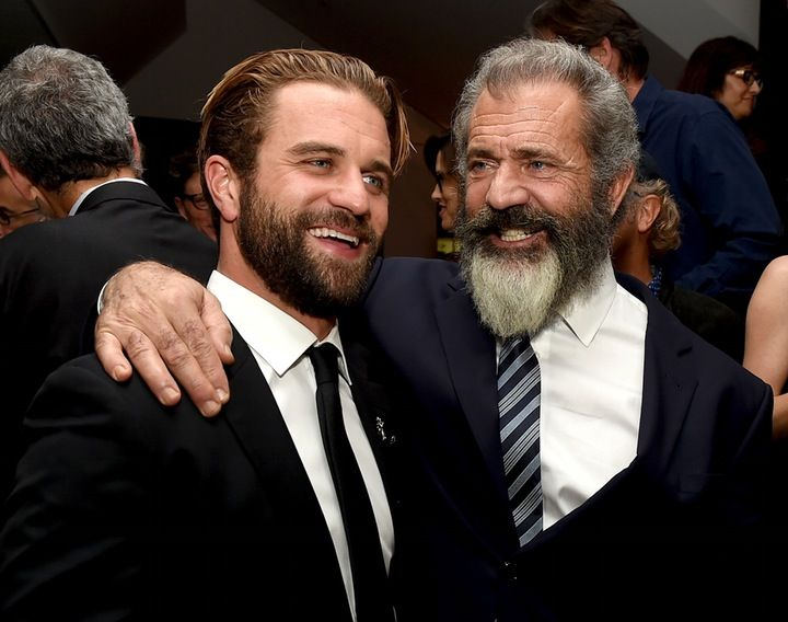 Mel Gibson Poses With His Lookalike Son Milo on the Red Carpet - Closer Weekly