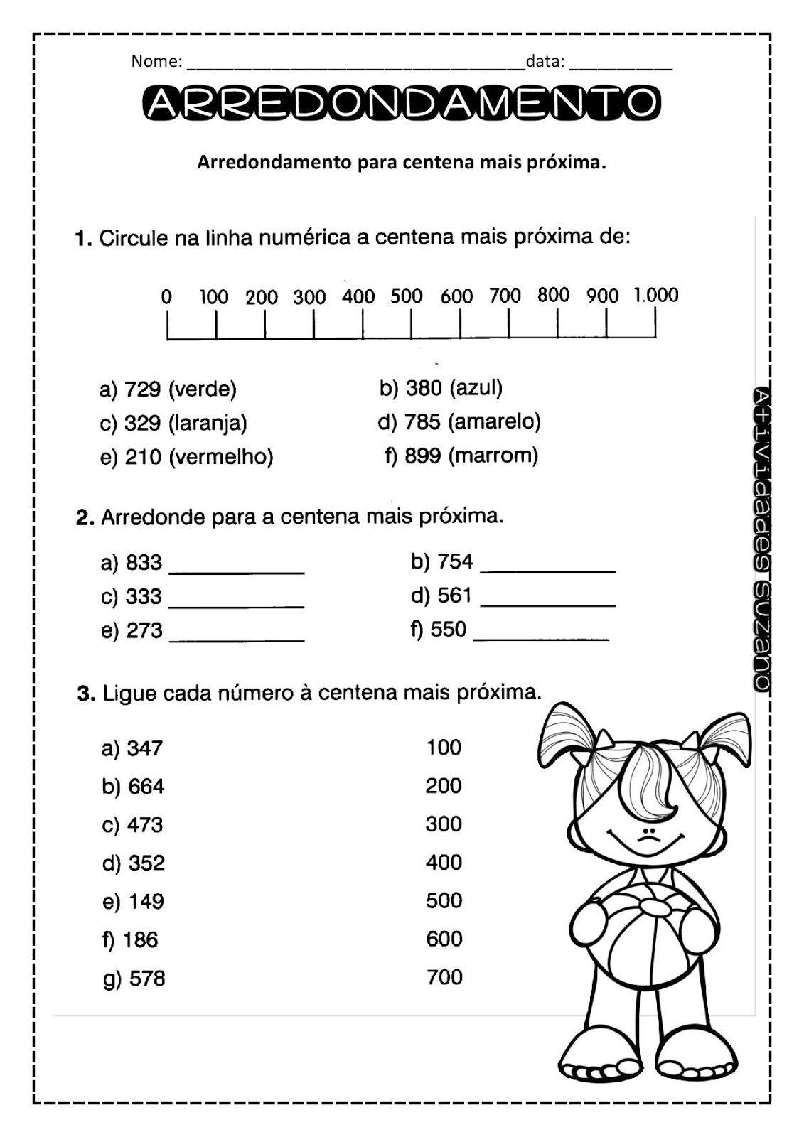 Pin Em Matematica 4º Ano