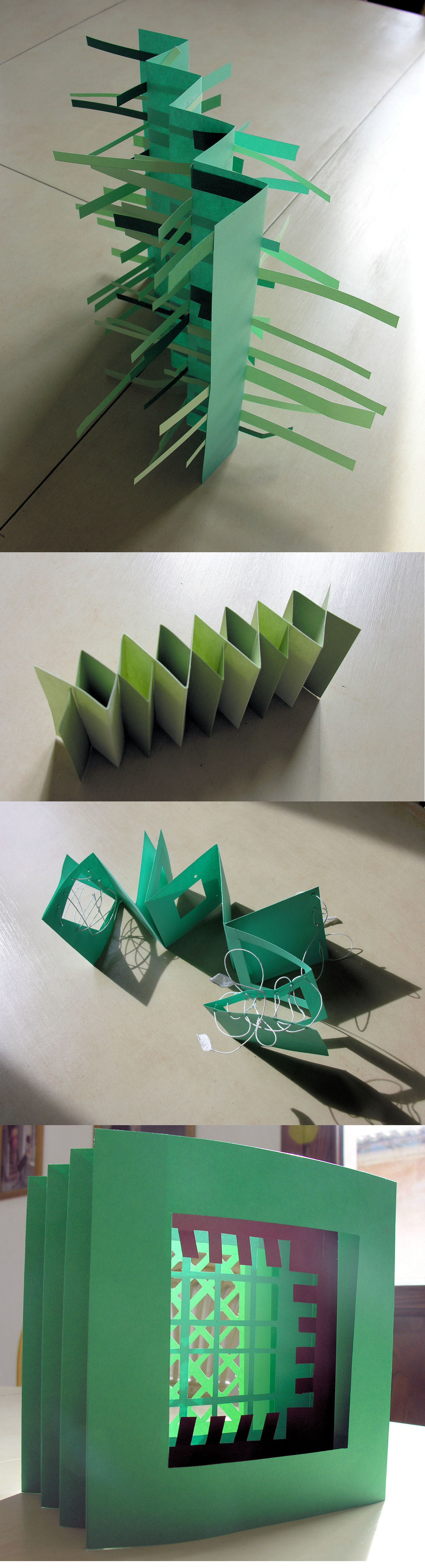 Paper booklet samples