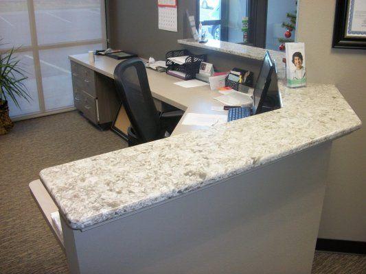 custom reception desk line