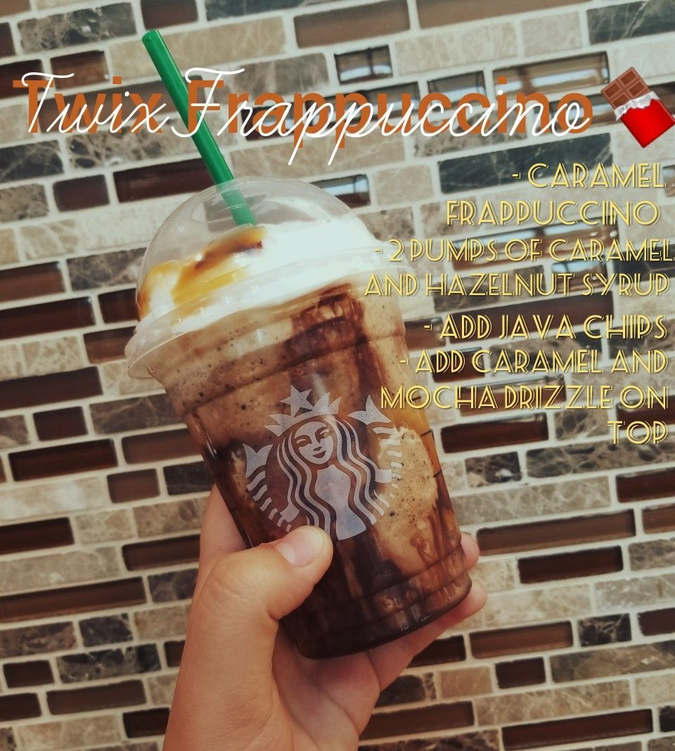 Twix Frappe (Secret Menu Starbucks Drink)  Twix Frappuccino from Starbucks. Secret menu drink. #starbuckssecretmenudrinks Twix Frappe (Secret Menu Starbucks Drink)  Twix Frappuccino from Starbucks. Secret menu drink. #starbuckssecretmenudrinks