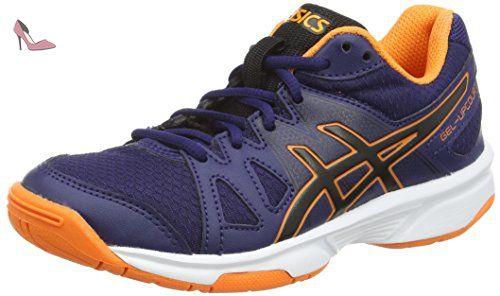 Asics Gel-Game 5, Chaussures de Tennis Homme, Multicolore (Sky Captain/White/Orange), 46 EU