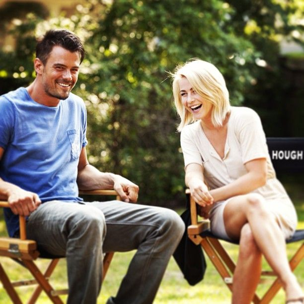 josh duhamel & julianne hough