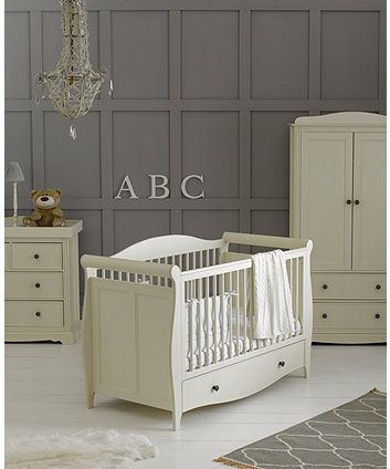 Mothercare Bloomsbury 3 Piece Nursery Furniture Set Ivory