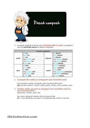 Chanson Sur Le Temps Qui Passe En Francais : chanson, temps, passe, francais, Chanson, étudier, Passé, Composé, Composé,, Chanson,, Passe, Compose, Avoir