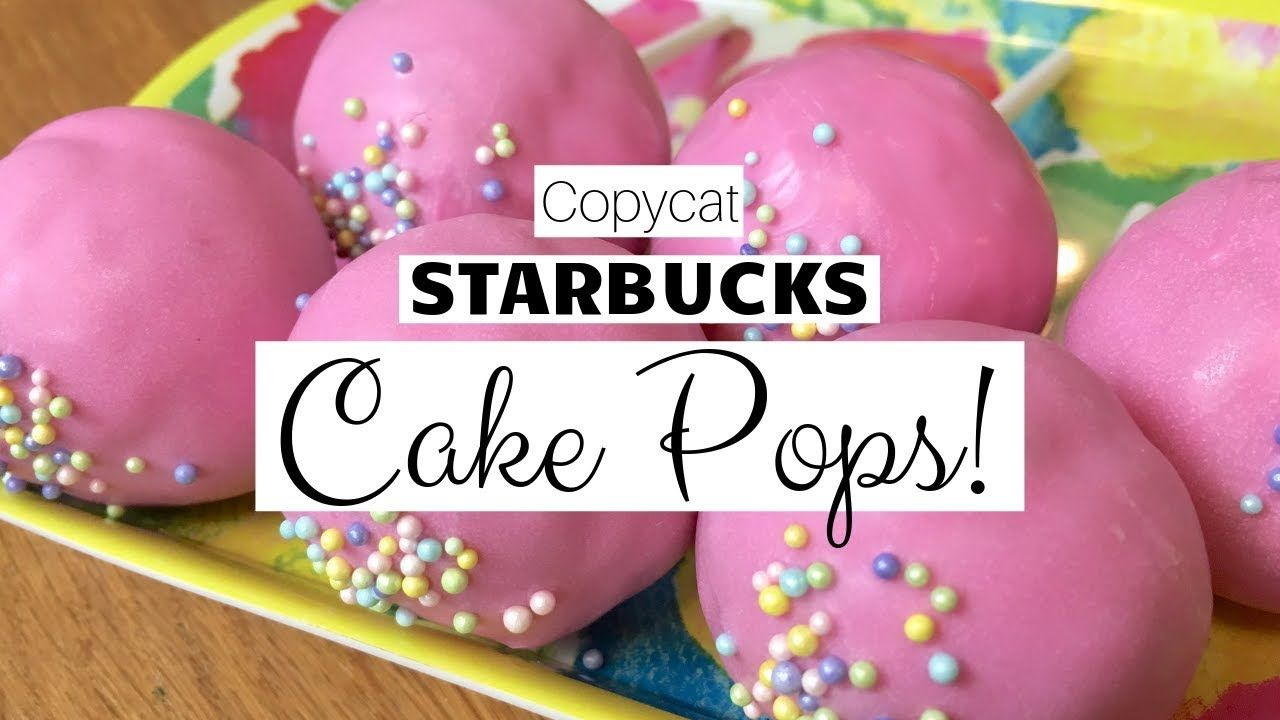 Copycat starbucks cake pops youtube starbucks cake