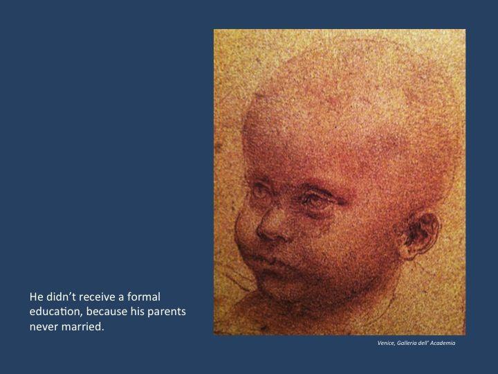 Leonardo da Vinci Biography for Kids: Childhood | Art History for ...