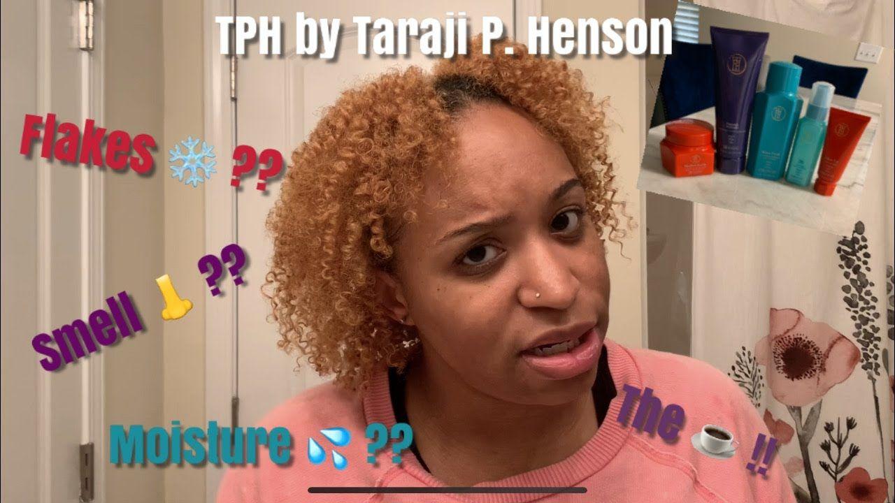 TARAJI P HENSON (TPH) PRODUCT REVIEW NATURAL HAIR HIGH