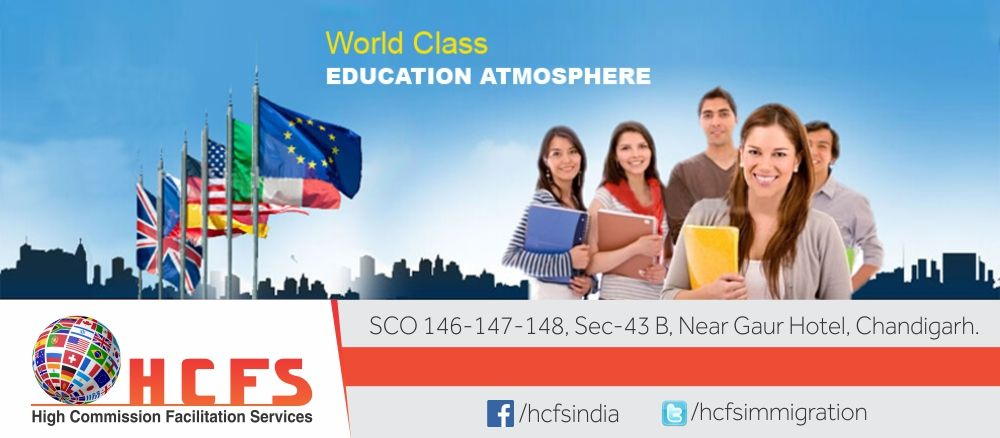 HCFS Immigration Chandigarh is the best Study Abroad Consultant in Chandigarh. http://i0.wp.com/www.hcfsindia.com/ https://i0.wp.com/hcfsimmigrat… | Study abroad ...