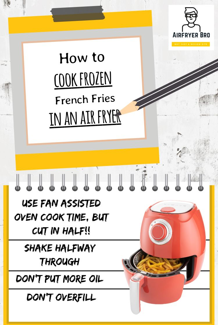 How to cook frozen french fries in an air fryer? in 2020