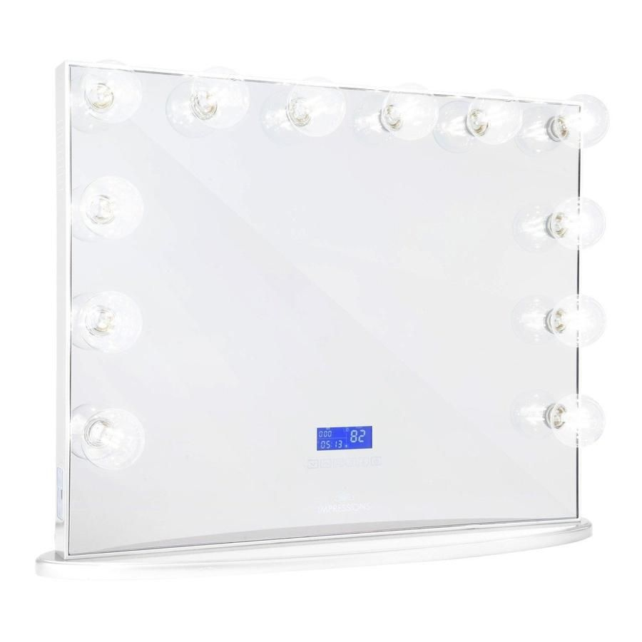 Hollywood Glow Plus BT Vanity Mirror with Bluetooth Speakers ...