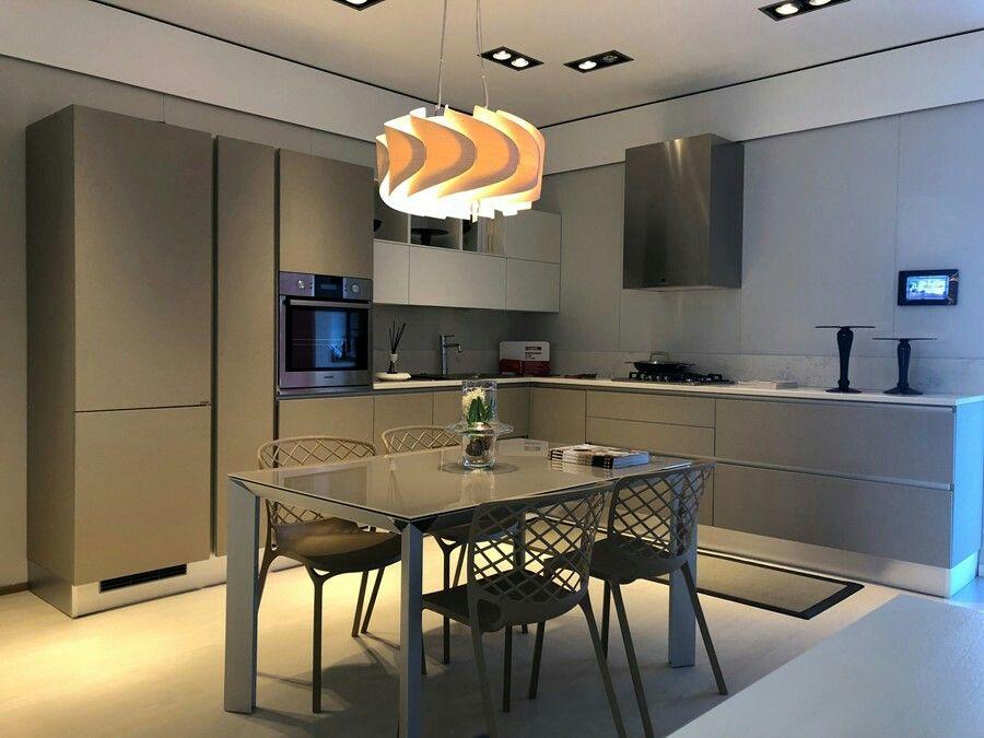 Scavolini Tavoli Da Cucina.Cucina Scavolini Modello Liberamente Colore Bianco Visone