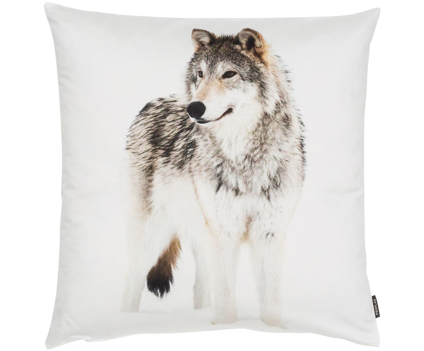 Kissenhulle Loup In Weiss Von Proflax Sorgt Fur Gemutlichkeit