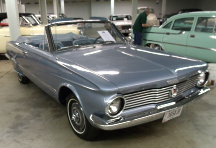 1964 Plymouth Valiant 200 Signet Convertible Plymouth Valiant