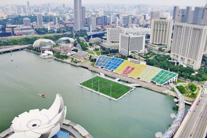 Top 20 Things To Do In Singapore The Float At Marina Bay Best Places In Singapore Asia Travel Biggest Stadium