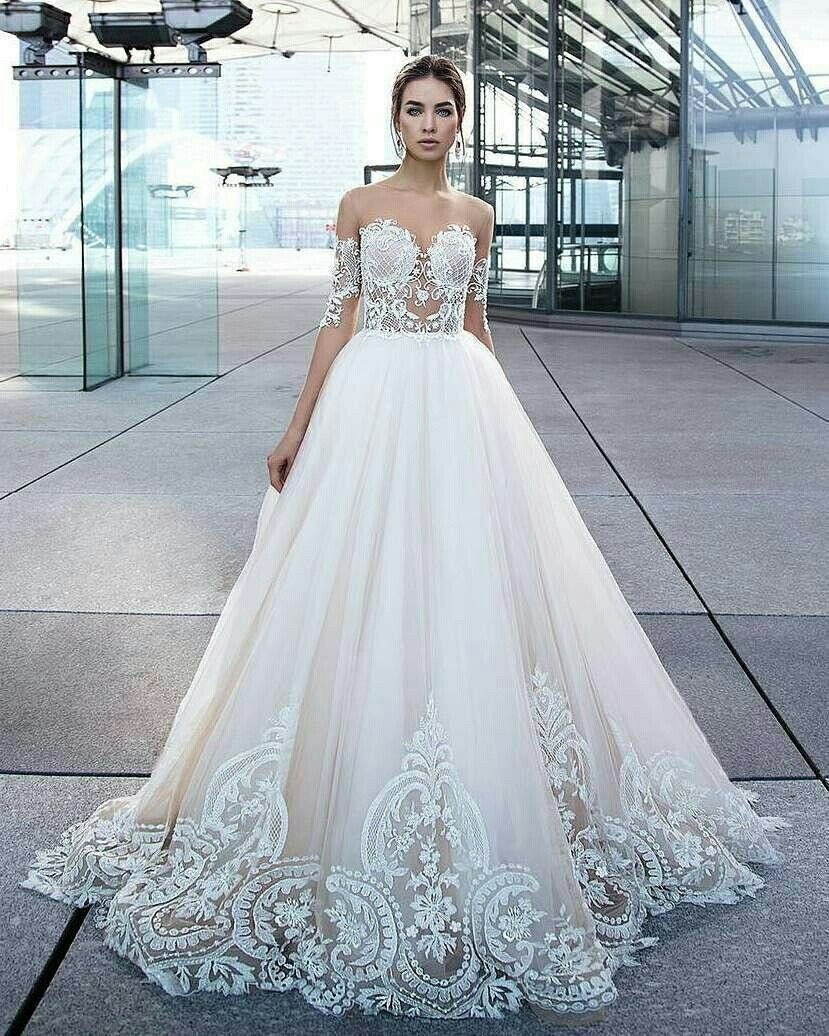 Pin by Monyrath sith on Gown   Pinterest   Bridal gowns, Gowns and ...