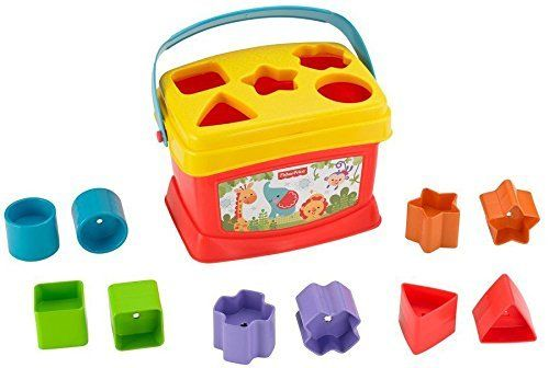 Fisher Price Brilliant Basics Baby S First Blocks Fisher Baby Learning Toys Fisher Price Baby Fisher Price Baby Toys