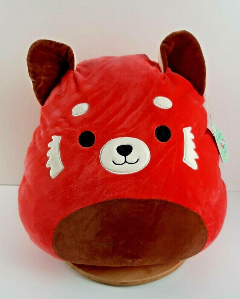 Kellytoy Squishmallows Cici The Red Panda Large 16 Plush Pillow New Kellytoy Red Panda Cartoon Red Panda Cute Panda Funny