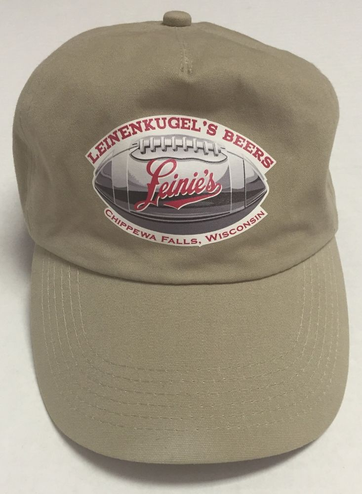 cd86add95b4 Leinenkugel s Beers Hat Leinies Chippewa Falls Wisconsin Alcohol Football   PortAuthority  BaseballCap