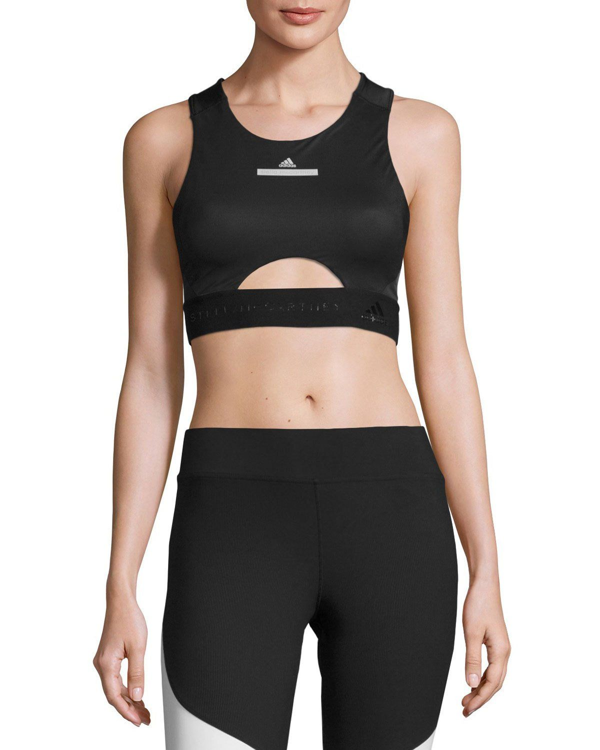b3dcdda3a1e95 ADIDAS BY STELLA MCCARTNEY RUN PERFORMANCE CROP TOP SPORTS BRA ...