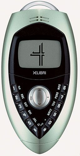 Siemens Xelibri 4 - This phone was so unique, I'm the only