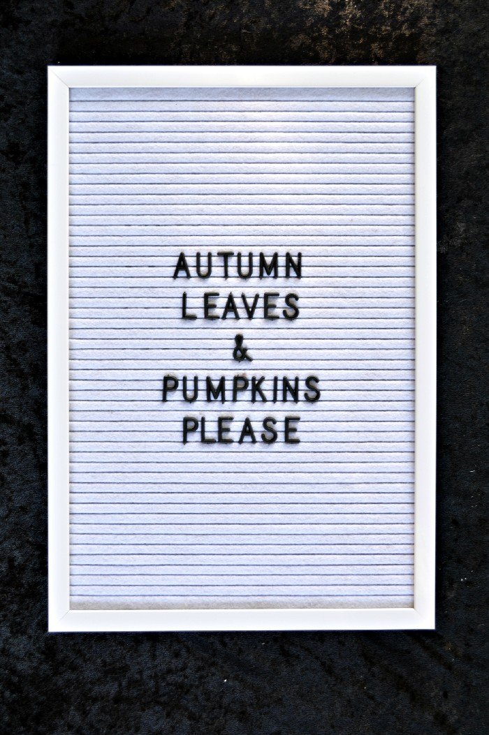 HOW TO USE A LETTER BOARD (& FUN SAYINGS FOR FALL) Mad in