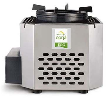 The Oorja Pellet Stove on the right is perhaps one of the best ...