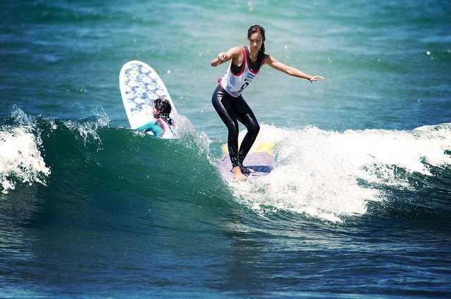 Justine Mauvin on the Kassia Invitational ©cazenave   #surf