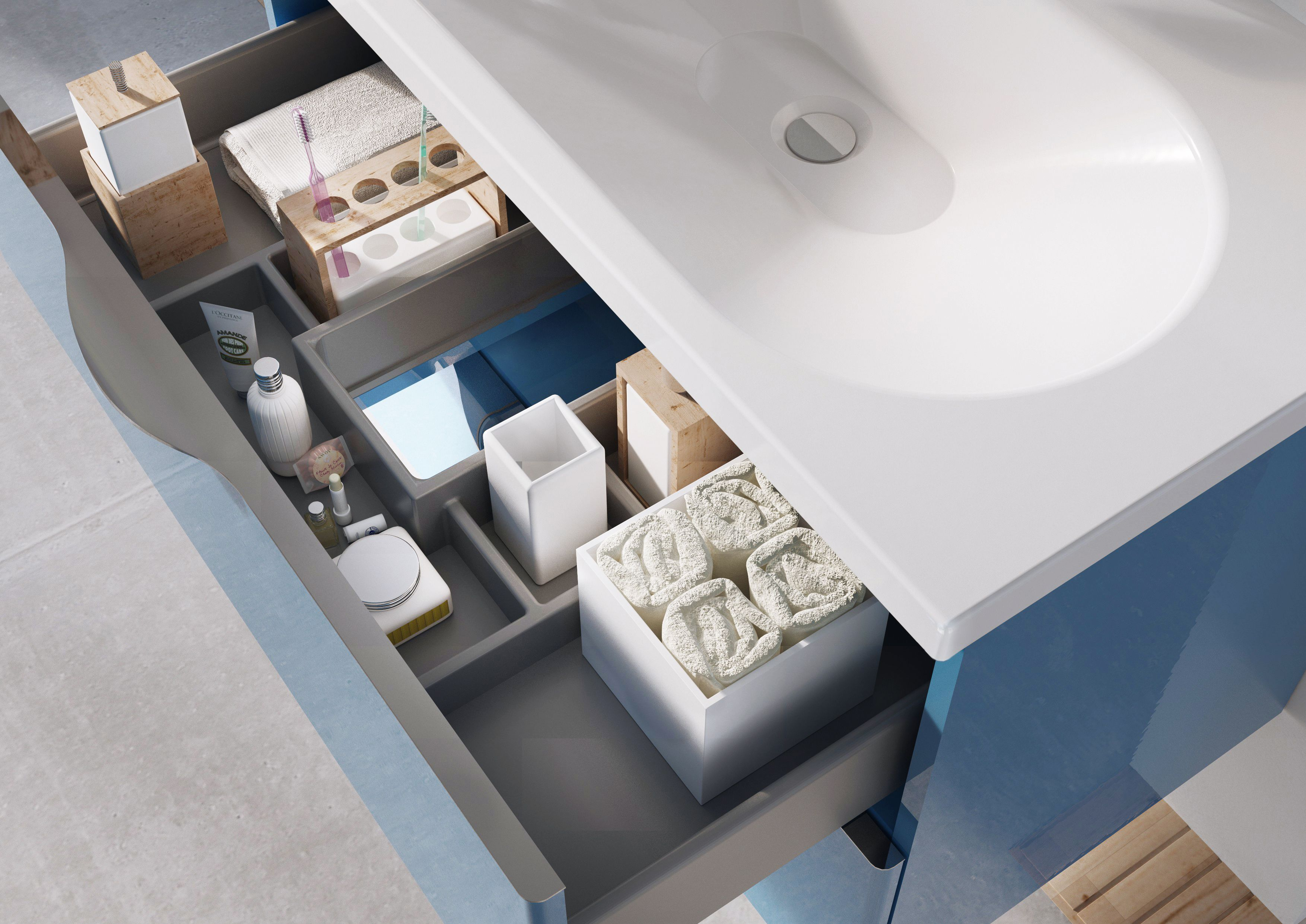 Meble 24 Meble łazienkowe Bathroom Furniture Ambio Collection Bathroom