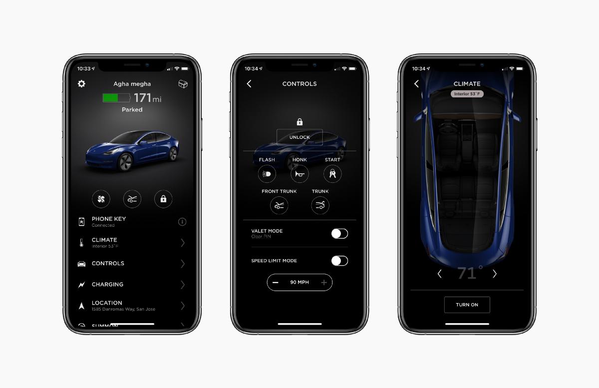 Redesigning The Mobile App That Tesla Deserves A Ux Case Study Car App Mobile App Tesla