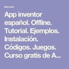 15 Ideas De App Inventor Inventores Informática Programacion