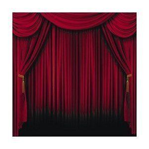 Amazon 8 45 6 Ft By 6ft Curtain Backdrops Red Curtains