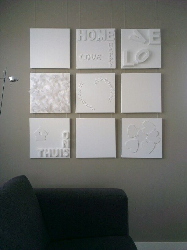 Wanddecoratie Woonkamer Zelf Maken
