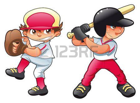 Baby Baseball Cartoon And Vector Characters Baseball Drawings Baseball Baby Baseball Game Outfits
