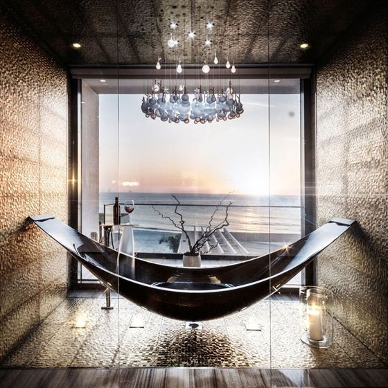 celebrate with a carbon fibre vessel bath