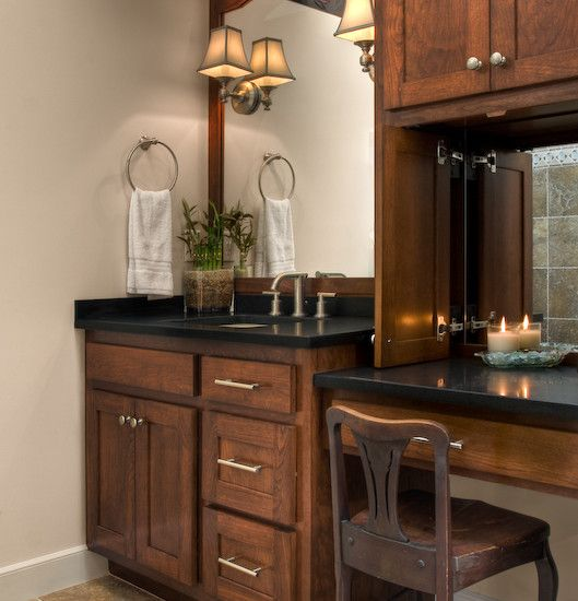 Best 25 Wooden Bathroom Vanity Ideas On Pinterest: Best 25+ Bathroom Makeup Vanities Ideas On Pinterest