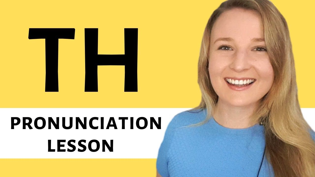 English pronunciation lesson to help you say and pronounce