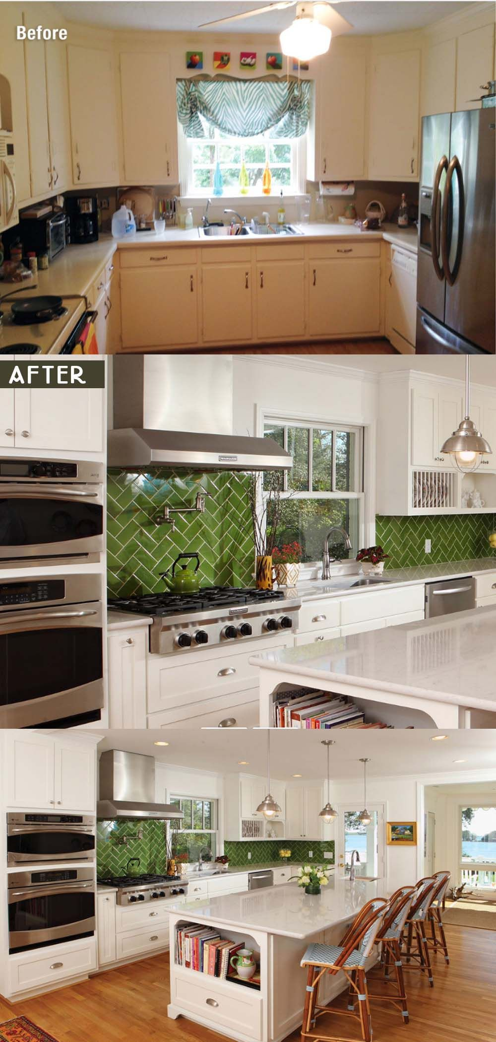 Getting Kitchen Remodel Ideas from many sources is essential. It gives a picture of how the homeowners plan to decide their future kitchen.   #kitchenideas #kitchenremodel #kitchentrends #2020 #cheap #beforeandafter #modern #ideas #tips #kitchendesign #kitchencost #kitchenbudget