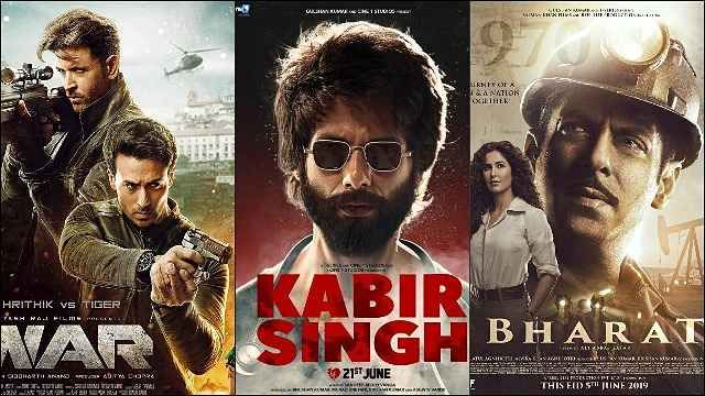 Top 10 Highest Grossing Bollywood Films of 2019 in 2020 ...
