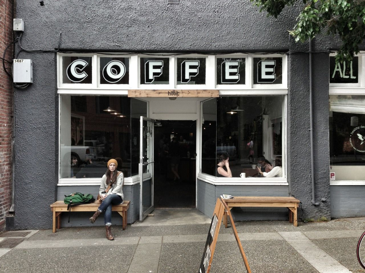 Pin By Sfgirlbybay Victoria Smith On Window Display And Design Coffee Shop My Coffee Shop Coffee Cafe