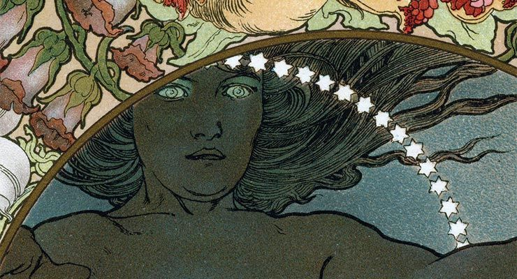 The Incredible Occult Illustrations of Alphonse Mucha