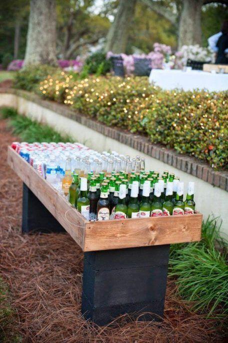 Backyard wedding reception bar ideas diy do it yourself cooler beer backyard wedding reception bar ideas diy do it yourself cooler beer solutioingenieria Images