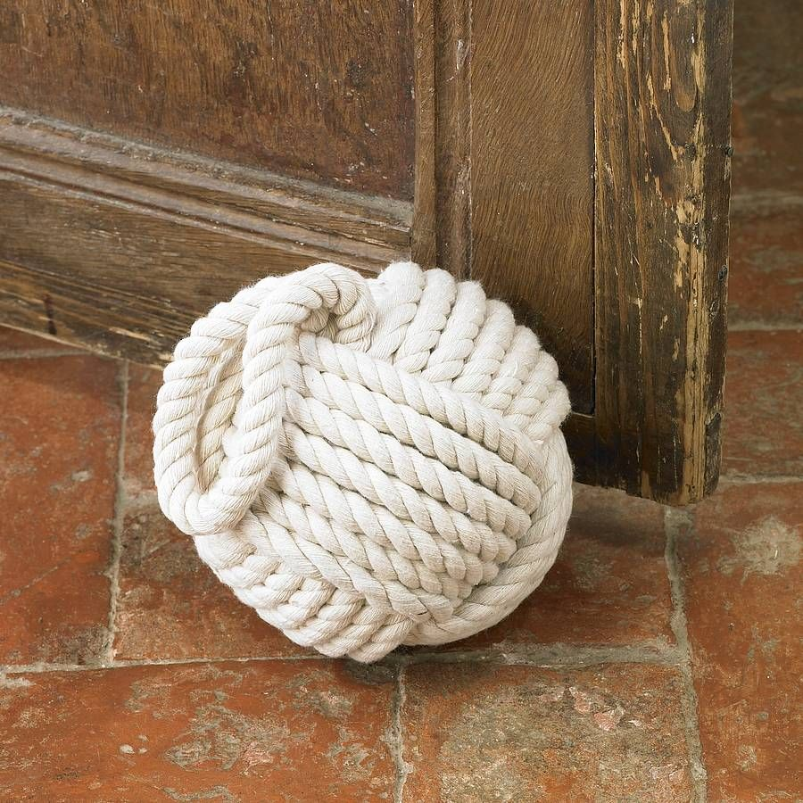 Superior DYI Rope DOOR STOP   Tennis Ball, Some Rocks And A Rope (u0027monkey