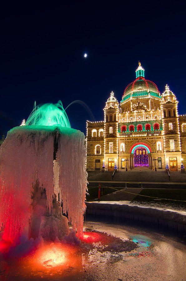 Frozen By Heather K Jones 500px Christmas Lights Holidays Around The World Canada Christmas