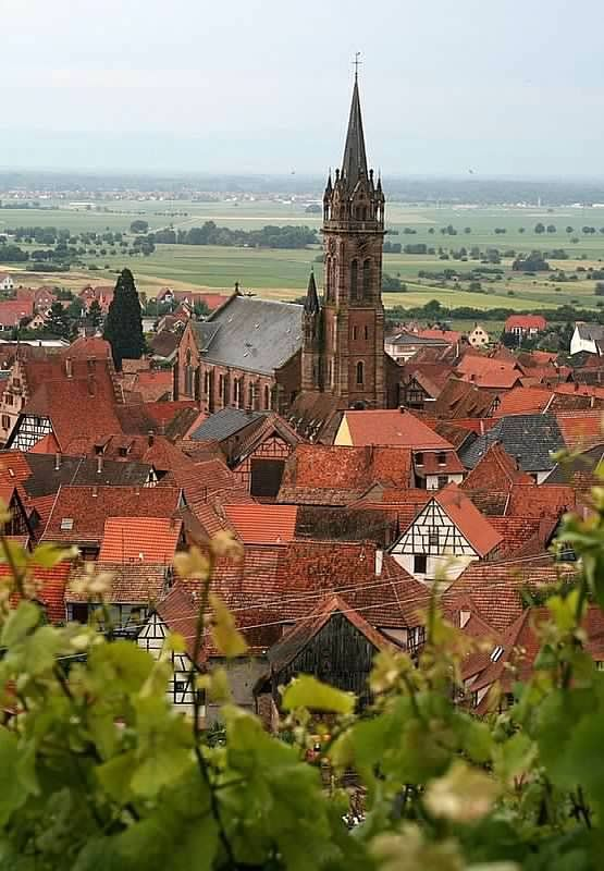 Alsace - My ancestors are from here, when the region belonged to Germany.