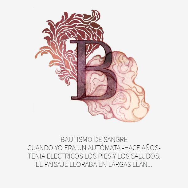 """con la B... """"Bautismo de sangre"""""""