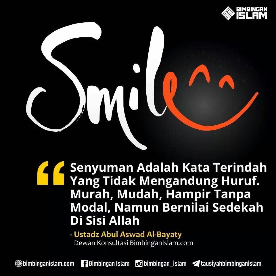 Keep Smile Always Dengan Gambar Motivasi Bijak Allah